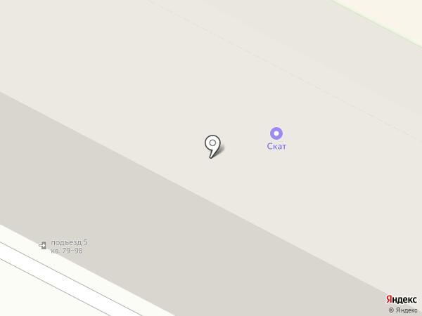 Лия на карте Пскова