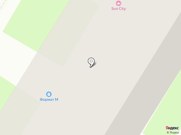 Велл на карте Пскова