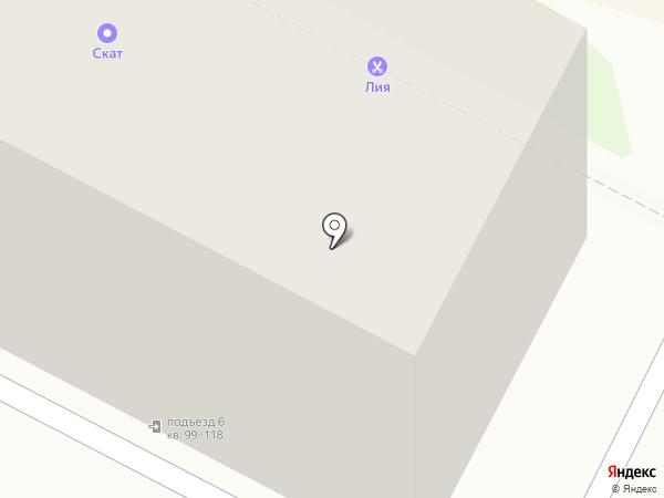Центр социального обслуживания г. Пскова на карте Пскова
