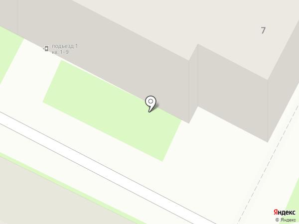 Гамма на карте Пскова