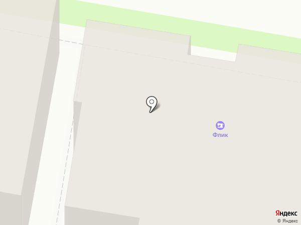 Книжица на карте Пскова