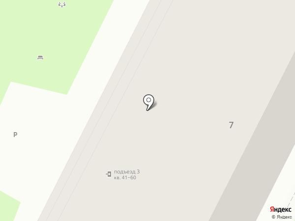 Виночерпий на карте Пскова