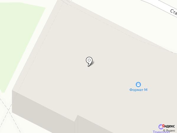 Гридин на карте Пскова