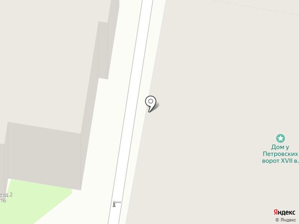 Магазин автотоваров на карте Пскова