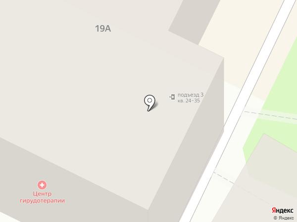 Девятка-Псков на карте Пскова
