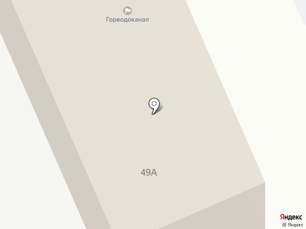 Горводоканал, МП на карте Пскова