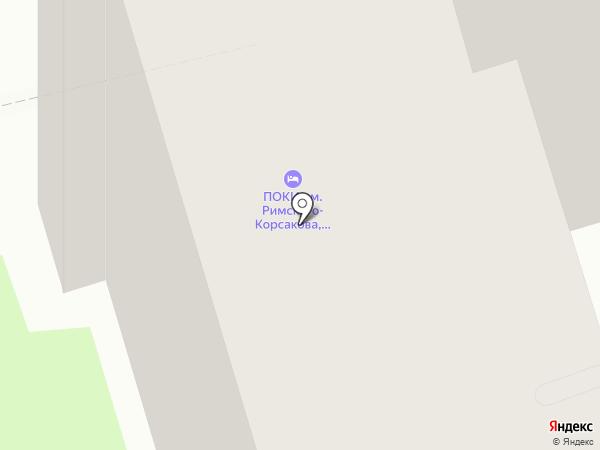 Контакт на карте Пскова