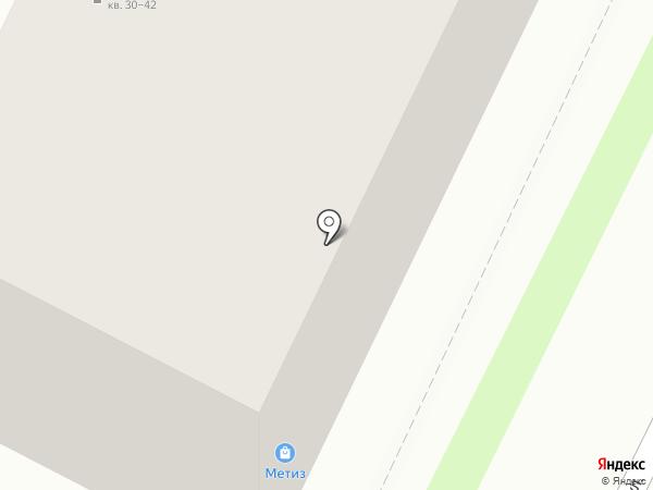 ВСК, САО на карте Пскова