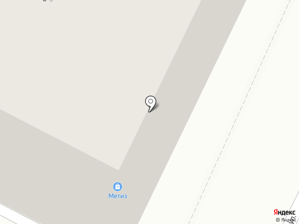 Метиз на карте Пскова