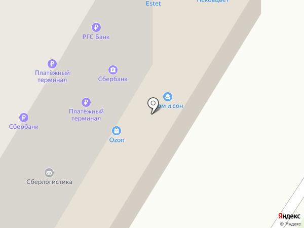 Сум.ка на карте Пскова