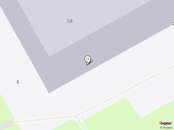 Псковская общеобразовательная школа-интернат на карте Пскова