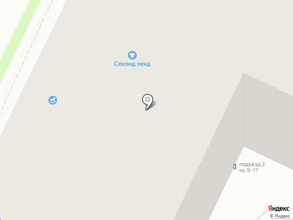 Фондор-Невский на карте Пскова