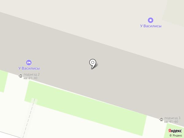 Макси на карте Пскова
