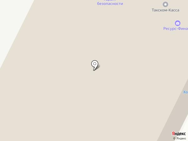 Крепёж на карте Пскова