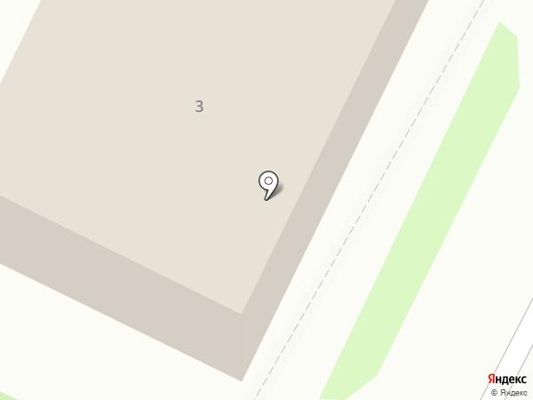 Военная комендатура Псковского гарнизона на карте Пскова