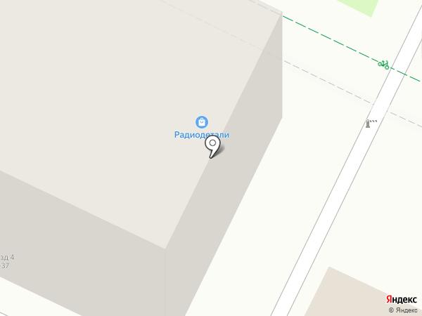 Магазин радиодеталей на карте Пскова