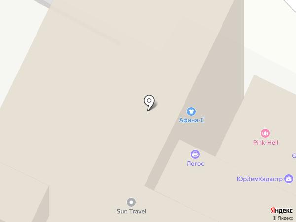 АФИНА-С на карте Пскова