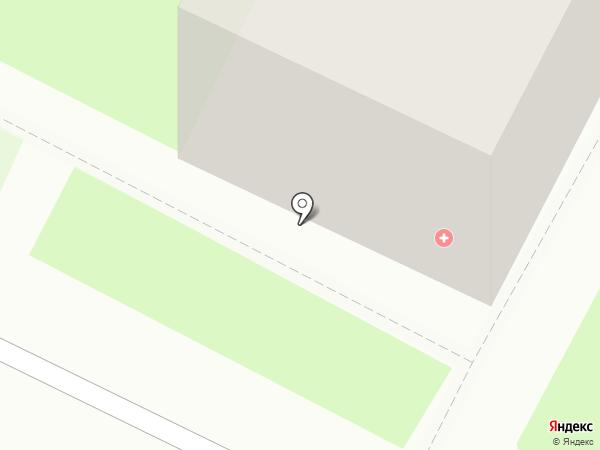 Медицинский центр на карте Пскова