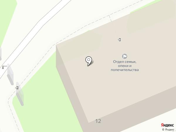Отдел жилищных субсидий г. Пскова на карте Пскова