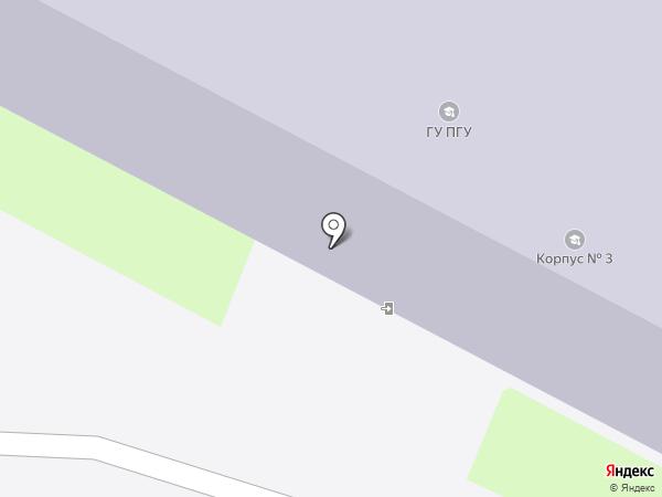 Псковский государственный университет на карте Пскова