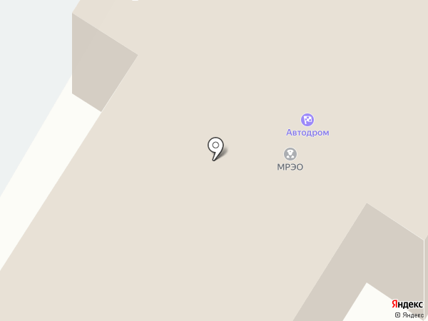 Управление ГИБДД на карте Пскова