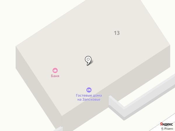 Приусадебная баня на карте Пскова