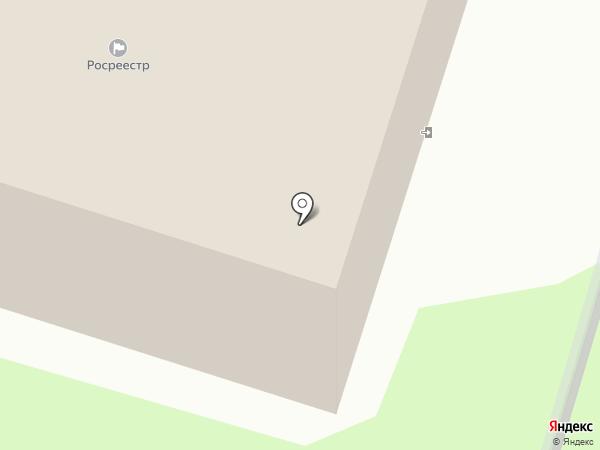 Управление Федеральной службы государственной регистрации, кадастра и картографии по Псковской области на карте Пскова