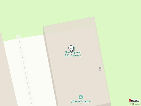 Дом-музей Ленина на карте Пскова