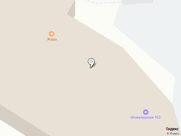 Город ветров на карте Пскова