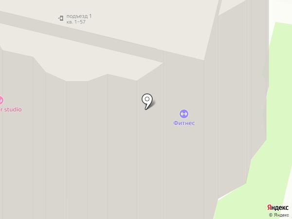 Фитнес-зал для женщин на карте Пскова