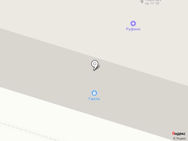 Псковская Палитра на карте Пскова