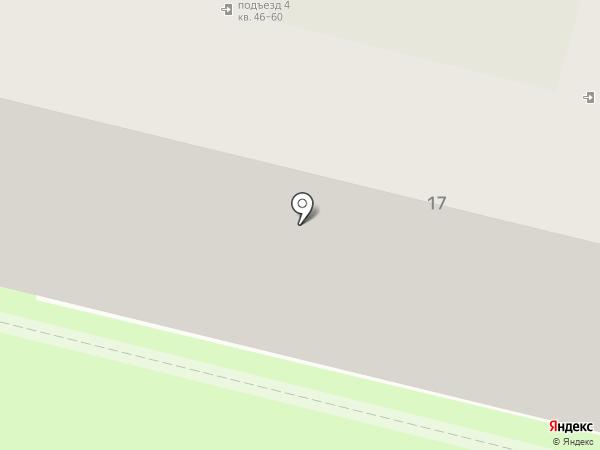 Оливия на карте Пскова