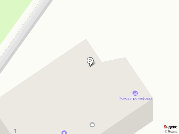 Псковагроинформ на карте Пскова