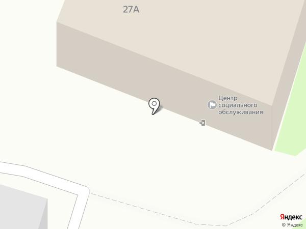 Комплексный социальный центр оказания помощи лицам без определенного места жительства на карте Пскова
