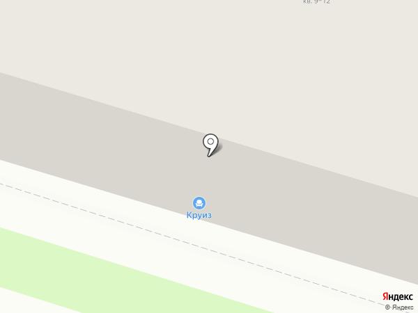 Круиз на карте Пскова