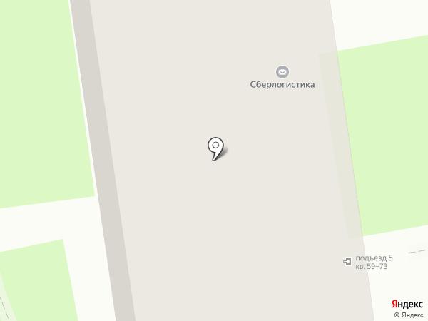 Мясной двор на карте Пскова