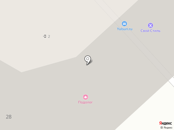Свой Стиль на карте Пскова