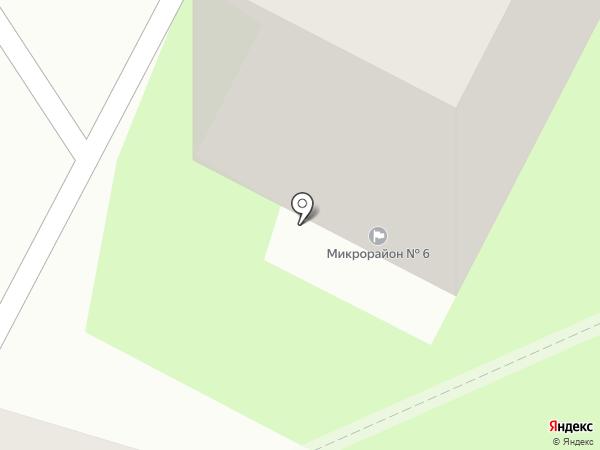 Хоромник на карте Пскова