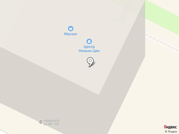 Магазин хозяйственных товаров на карте Пскова