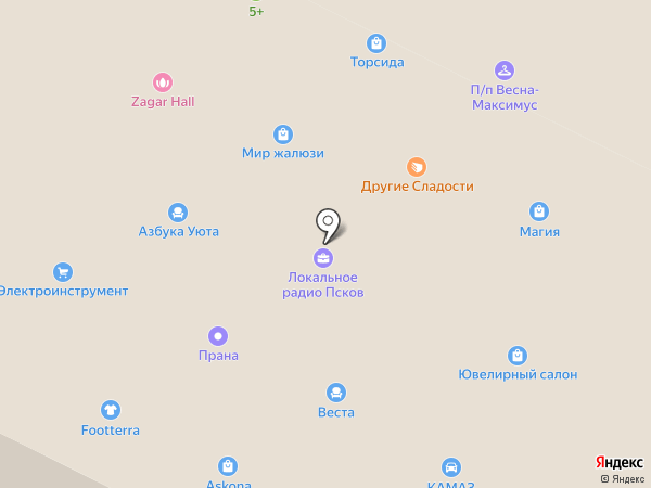 Шляпный сезон на карте Пскова