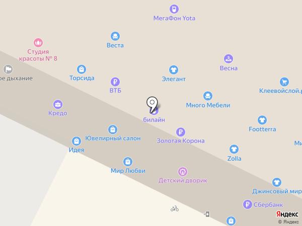 Красота на кончиках пальцев на карте Пскова