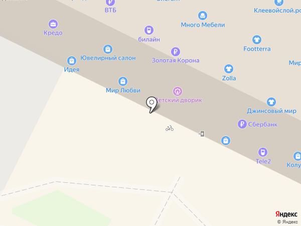 Дефиле на карте Пскова