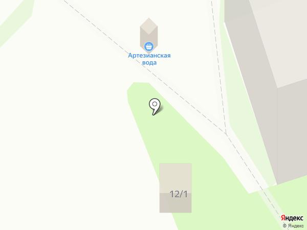 Артезианская вода на карте Пскова