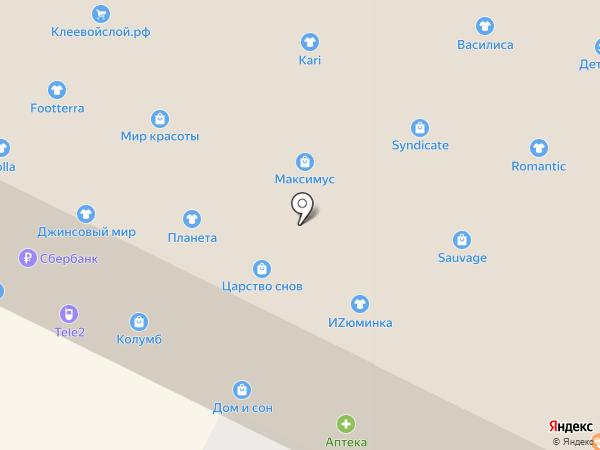 КЛЕН на карте Пскова
