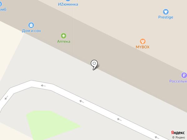 Dandy на карте Пскова