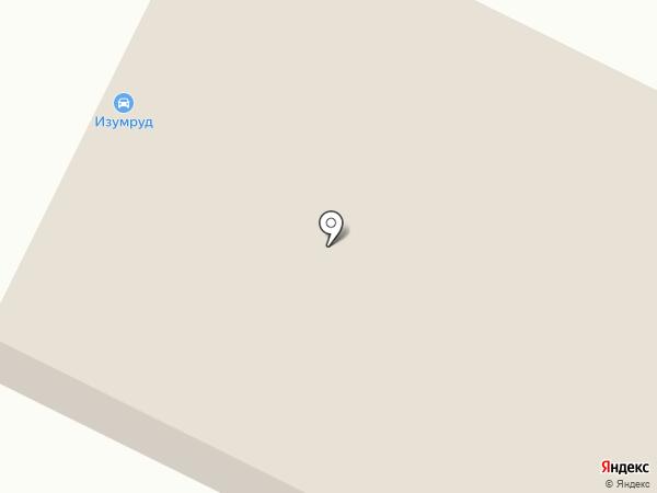 Изумруд на карте Пскова