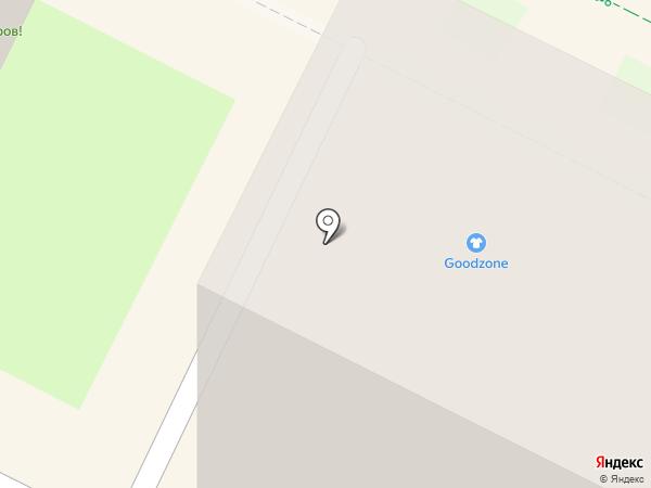 Любава на карте Пскова