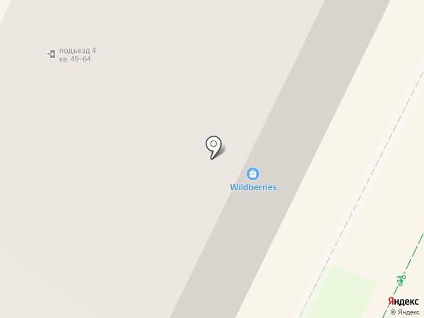 Долька на карте Пскова