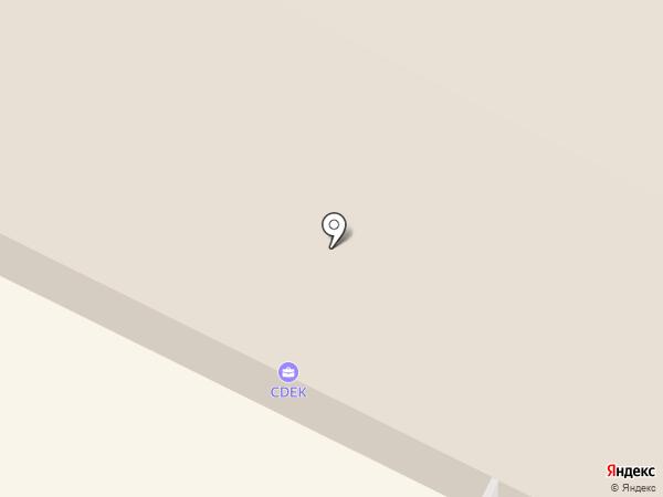 Автосервис на Октябрьском проспекте на карте Пскова