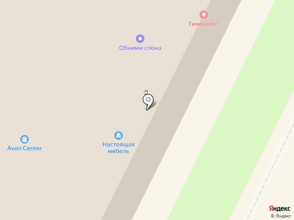 Настоящая мебель на карте Пскова